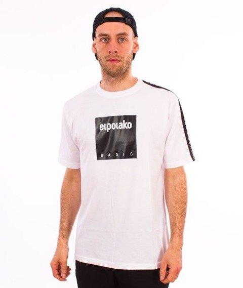 El Polako-Box Style T-Shirt Biały