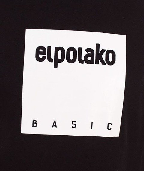 El Polako-Box Style T-Shirt Czarny