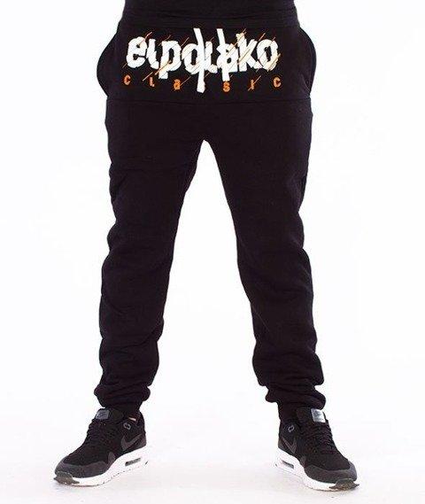 El Polako-Classic Cut Fit Spodnie Dresowe Czarne