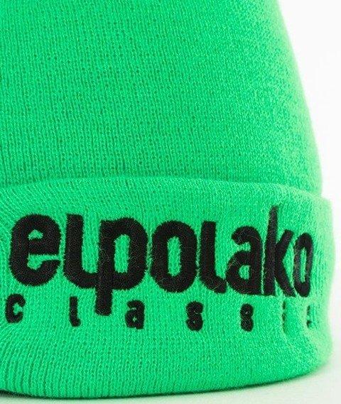 El Polako-Classic EP Czapka Wywijana Limonkowa