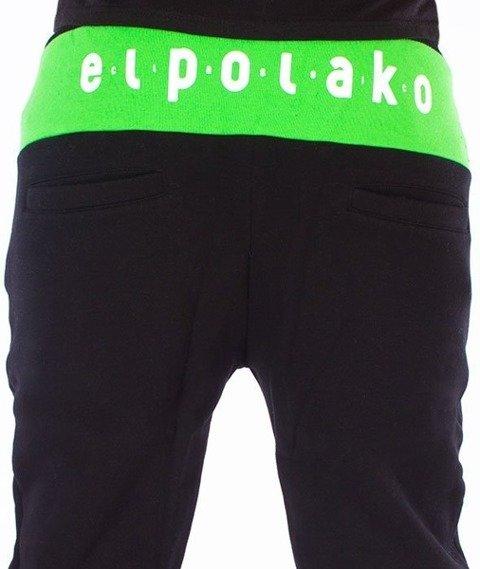 El Polako-Classic Fit Spodnie Dresowe Czarne