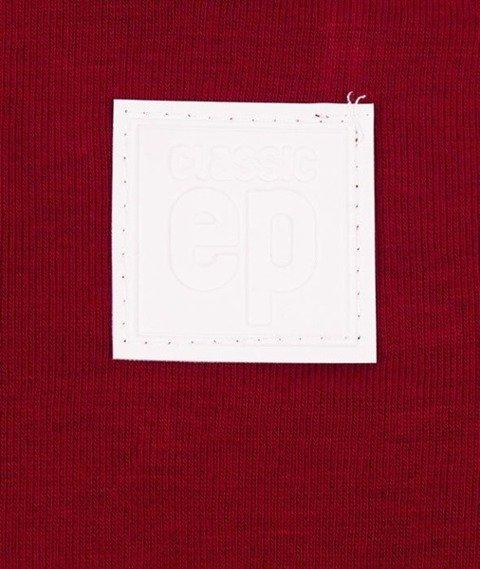 El Polako-Classic Logo Crewneck Bluza Bordo