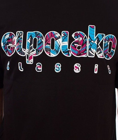 El Polako-Colors T-Shirt Czarny