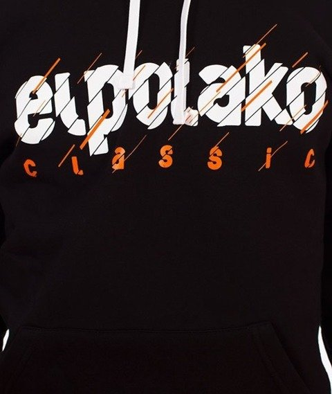 El Polako-Cut Classic Bluza Kaptur Czarny