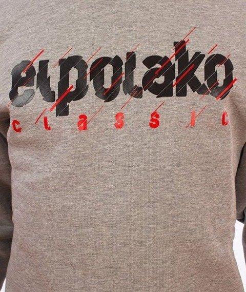 El Polako-Cut Classic Bluza Szara