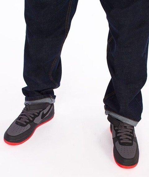 El Polako-Cut Classic Spodnie Baggy Jeans Dark Blue