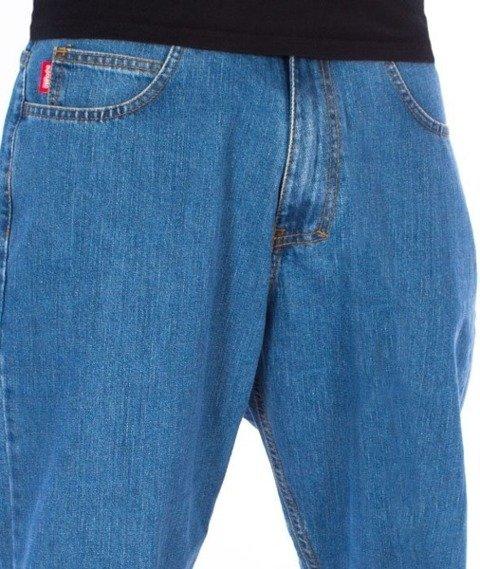 El Polako-Cut Classic Spodnie Baggy Jeans Light Blue