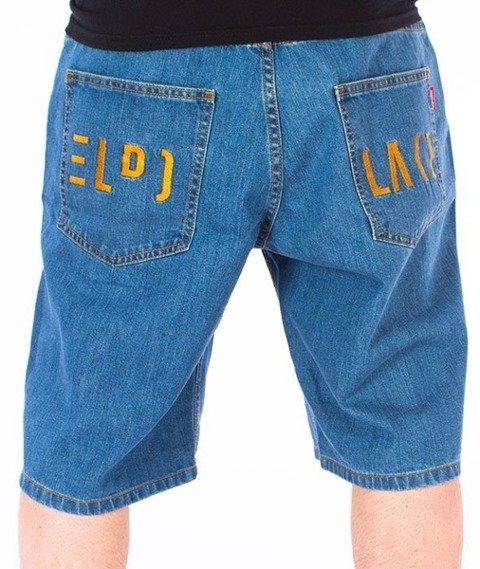 El Polako-Cut Spodnie Krótkie Jeans Light Blue