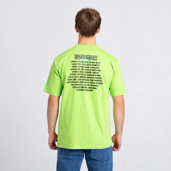 El Polako DUMNI INTERNATIONAL T-Shirt Neon