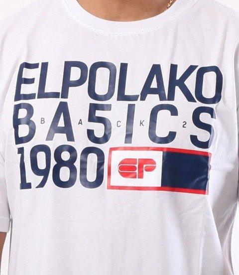 El Polako-EP Basic T-Shirt Biały