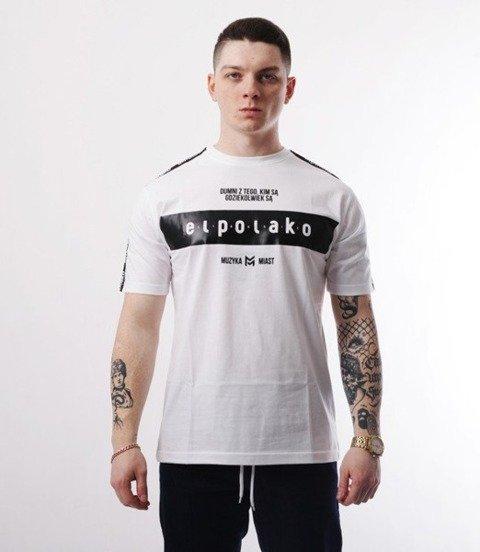 El Polako-EP Belt T-Shirt Biały