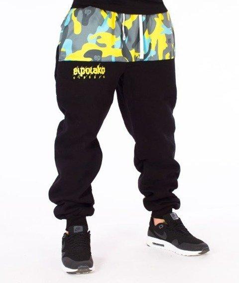 El Polako-EP Moro Cut Spodnie Dresowe Czarne