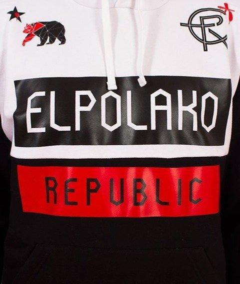 El Polako-EPR Bluza Kaptur Czarna
