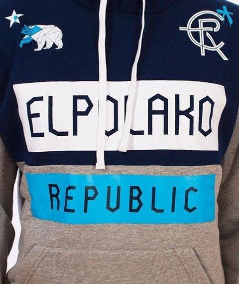 El Polako-EPR Bluza Kaptur Szary