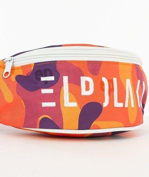 El Polako-El Polako Camo Street Bag Nerka Pomarańczowa/Camo