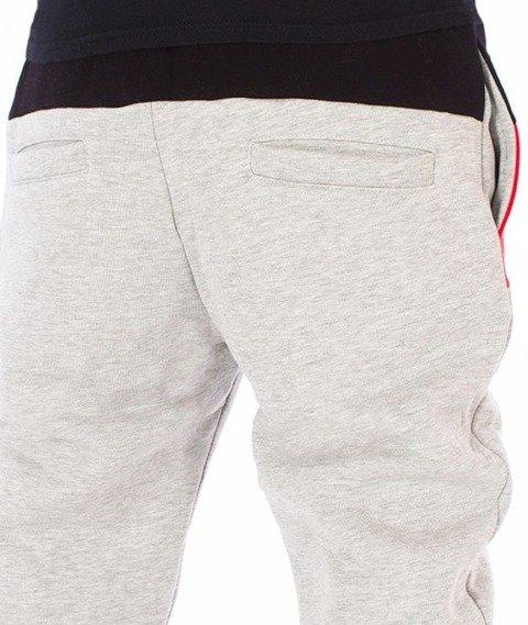 El Polako-El Polako Cut Premium Fit Spodnie Dresowe Szare