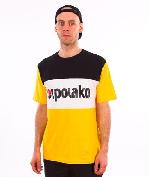 El Polako-Elpo New T-Shirt Żółty