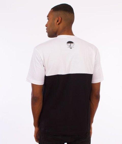 El Polako-Elpolako Cut T-Shirt Premium Biały/Czerwony/Czarny