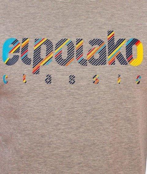 El Polako-Ep Classic Line Bluza Szara