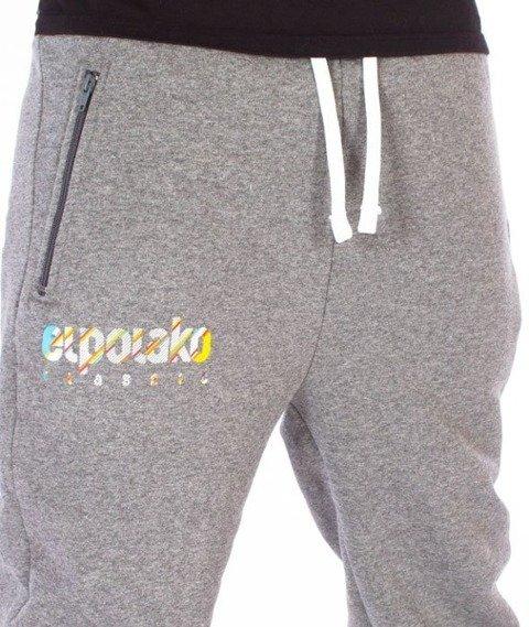 El Polako-Ep Classic Line Fit Spodnie Dresowe Grafitowe