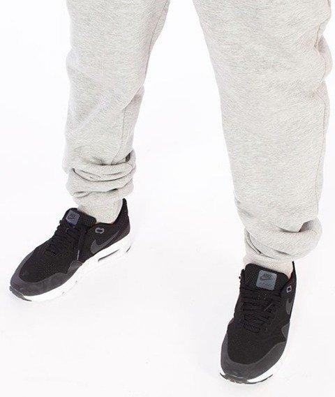 El Polako-Ep Classic Line Fit Spodnie Dresowe Szare