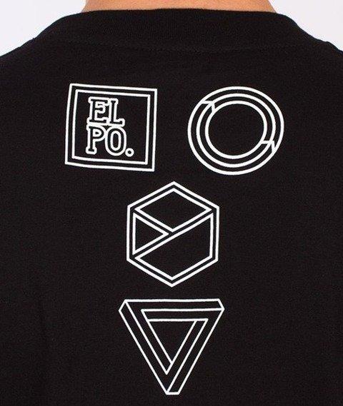El Polako-Geometric Żubr T-Shirt Czarny
