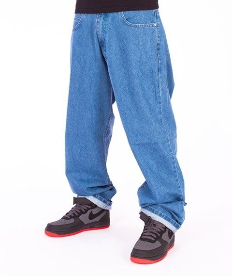 El Polako-Gorilla Baggy Jeans Light Blue
