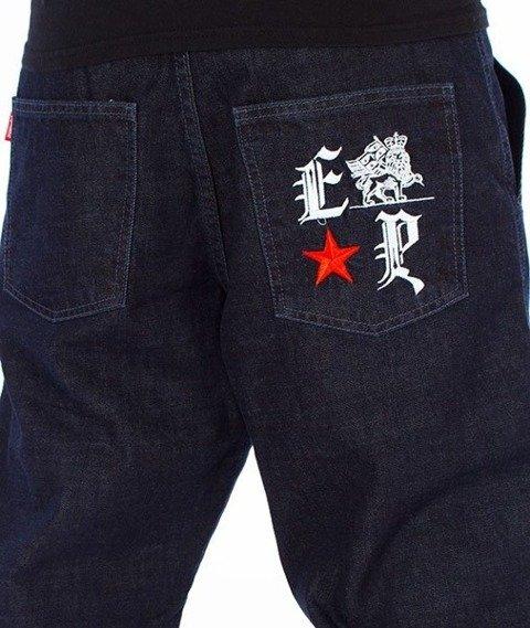 El Polako-Gotyk Regular Jogger Spodnie Dark Blue