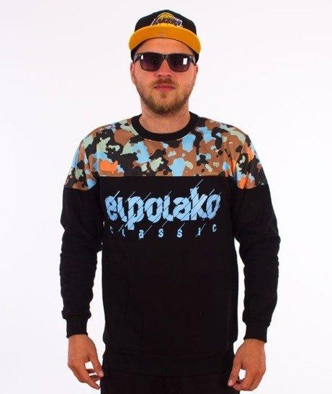 El Polako-Half Moro 08 Cut Bluza Czarna