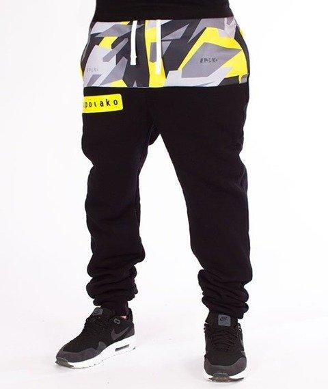 El Polako-Half Triangle Moro Spodnie Dresowe Fit Yellow