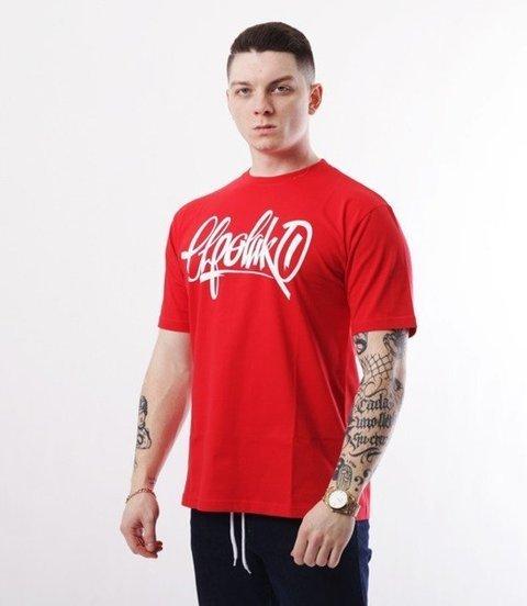 El Polako-Handmade T-Shirt Czerwony