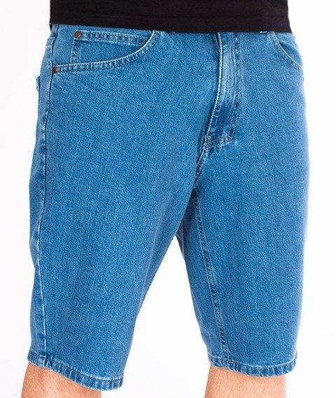 El Polako-Handwritten Szorty Jeans Light Blue