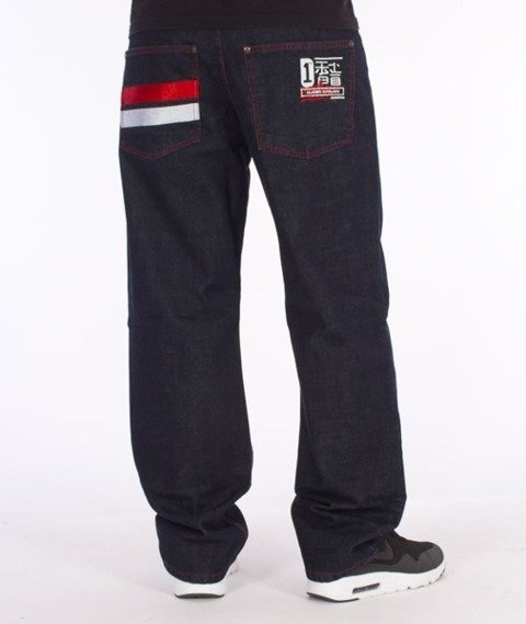 El Polako-Japan Regular Jeans Dark Blue