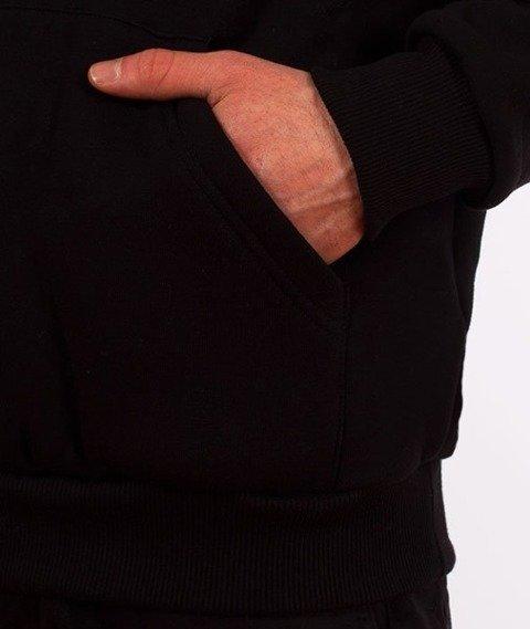 El Polako-Kangurka Alfabet Bluza Kaptur Czarna