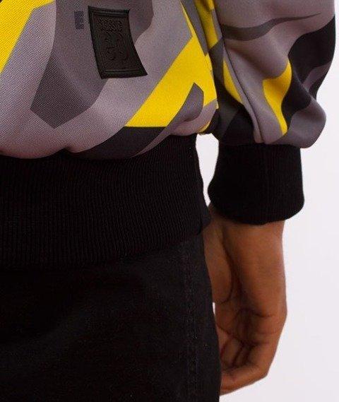El Polako-Kangurka Premium Yellow Triangle Moro Bluza Kaptur