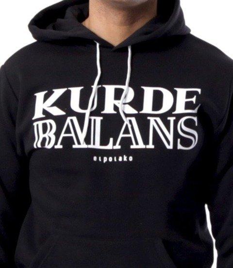 El Polako-Kurde Balans Bluza Kaptur Czarna