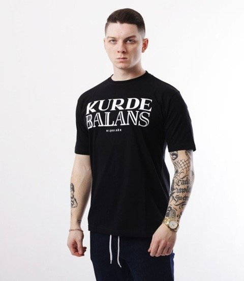 El Polako-Kurde Balans T-Shirt Czarny