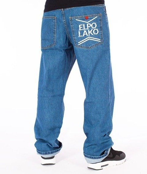 El Polako-Line EP Regular Jeans Spodnie Light Blue