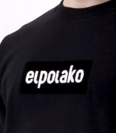 El Polako-Logobox Bluza Czarny