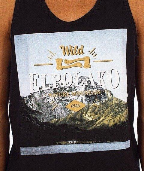 El Polako-Mind Tank-Top Czarny