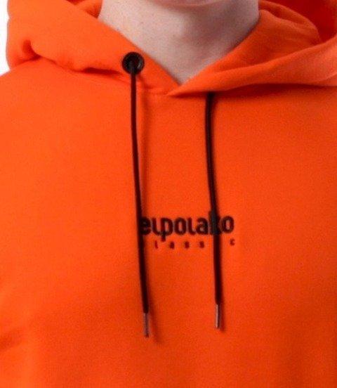 El Polako-Mini Logo Bluza Kaptur Pomarańcz