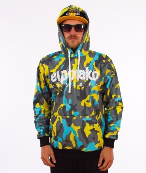 El Polako-Moro EP Premium Bluza Kaptur Camo