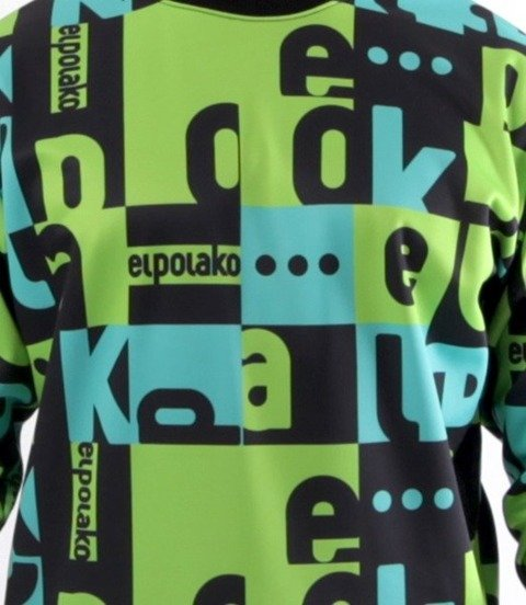 El Polako-Multisquare Bluza Zielona