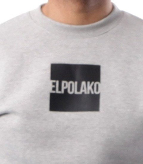 El Polako-New Box Bluza Jasno Szara