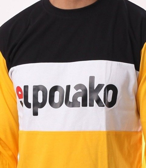 El Polako-New Elpo Longsleeve Żółty