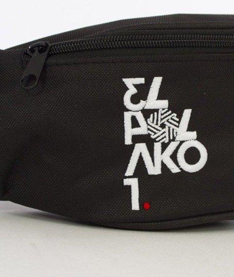 El Polako-Number Street Bag Nerka Czarna