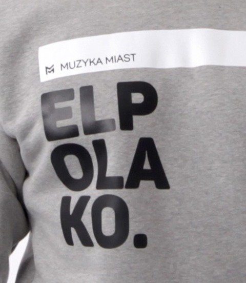 El Polako-OK Bluza Szara