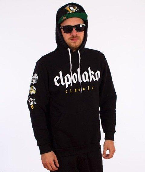 El Polako-Old Classic Hoody Bluza Kaptur Czarna