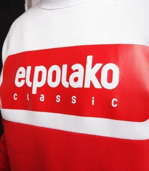 El Polako PLATE Bluza Czerwony
