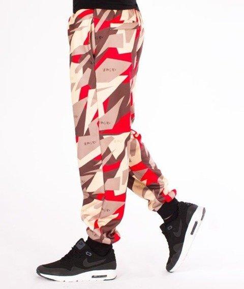 El Polako-Premium Triangle Moro Red Spodnie Dresowe